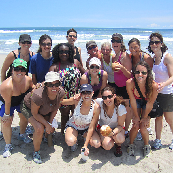 self love retreat - fun on the beach