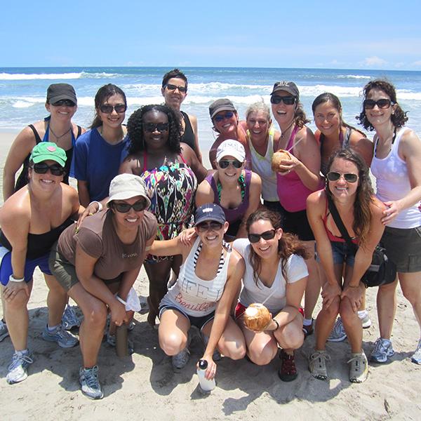 self love retreat - fun on the beach