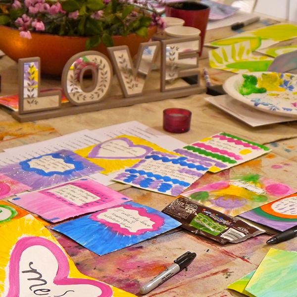 self love retreat - arts and crafts