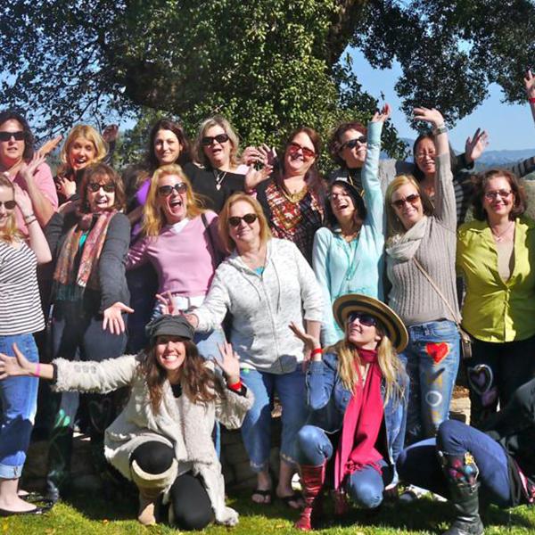 self love retreat - group photo