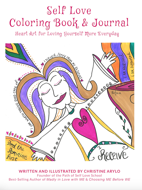self love coloring book & journal
