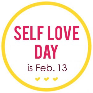 self love day circle logo
