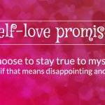 self love promise