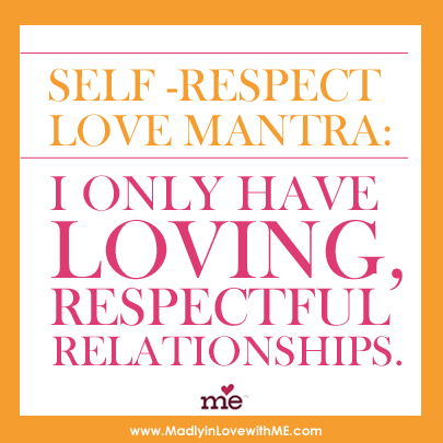 self love mantra poster