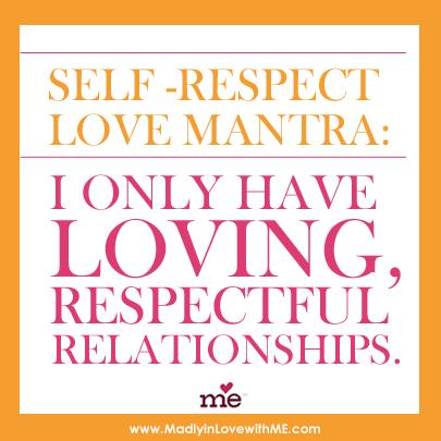 self love mantra poster