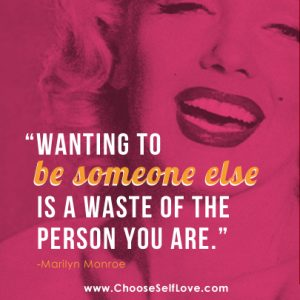 Be Yourself Marilyn Monroe Mantra